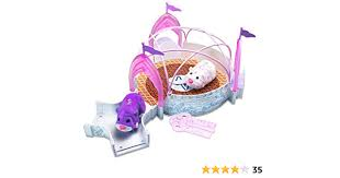 Amazon.com: Zhu Zhu Pets Add On Playset Magical Crystal Ballroom Hamster  NOT Included!: Toys & Games
