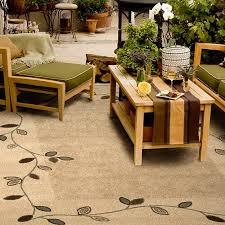 get ations outdoor garden area indoor outdoor rug 6 5 x 9 8