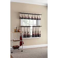 Red Kitchen Curtain Sets Wine Kitchen Curtains Sets Cliff Kitchen