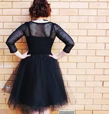 tulle skirt back