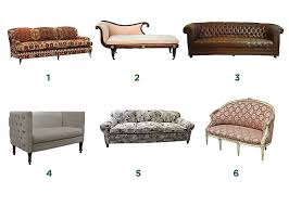 ... Contemporary Types Of Couches Different Sofa Styles ...