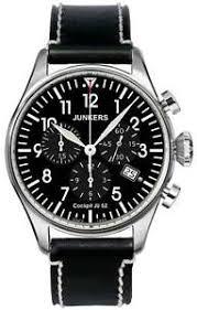 junkers 6180 2 watch men 039 s watch chronographs aviator image is loading junkers 6180 2 watch men 039 s watch