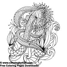 Zen Doodle Geometric Coloring Page 687 Coloring By Miki
