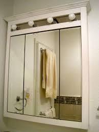 Three Way Vanity Mirror Mirror With Lights Unique Home Design