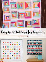 45+ Easy Quilt Patterns for Beginners | AllFreeSewing.com & Easy Quilt Patterns for Beginners Adamdwight.com