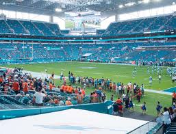 Miami Dolphins Hard Rock Stadium Seating Chart Hard Rock Stadium Section 111 Seat Views Seatgeek