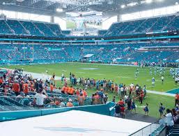 Hard Rock Stadium Section 111 Seat Views Seatgeek