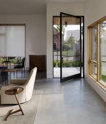 glass exterior door with steel frame private house colquitt texas united states vivianoviviano system m