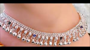 Fancy Silver Payal Designs With Price Latest Bridal Fancy Silver Anklets Designs 2018 Silver