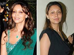 before and after 12 actresseswithoutmakeup celebrities without makeup stani and indian actresses 0029