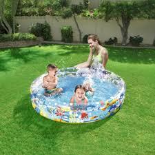 <b>Детский бассейн BestWay</b> круглый ''<b>Подводный</b> мир'', 152х30 282 ...