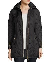 Burberry Baughton Quilted Belted Parka Jacket, Black | Neiman Marcus & Baughton Quilted Belted Parka Jacket, Black Adamdwight.com