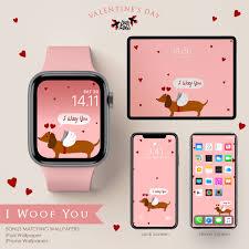 I Woof You Apple Watch Wallpaper ...