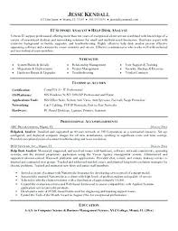 Sample Help Desk Analyst Resume Classy Help Desk Analyst Resume Sample Professional Resume