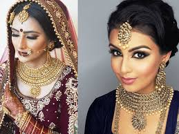 indian bridal makeup trend collection