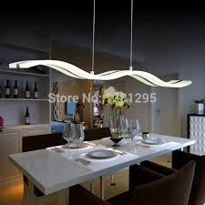 LED Pendant Lights Modern Design Kitchen Acrylic Suspension Hanging Classy Lamp For Dining Room