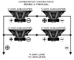 impedance db drive single parallel single series single combo