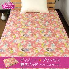 reveur rakuten global market kneeling pad disney princess single size 100 x 200 cm washable pat litter pat mattress pad bed pad pad sheet sheets cool