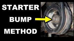Starter Bump Method - Toyota Crankshaft Pulley Bolt Removal 22R ...
