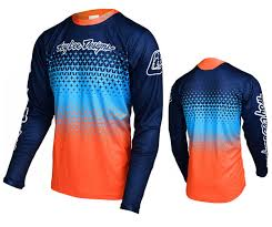 - Lee Starburst Troy Sprint Navy Orange Jersey Designs