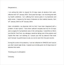Awesome Collection of How To Write Leave Absence Letter For Work With Format Layout