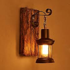 Image Lighting Fixtures Wall Light Wooden Metal Single Head Wall Lamp Retro Industrial Style For Home Hotel Corridor Decorate Amazoncouk Lighting Amazon Uk Wall Light Wooden Metal Single Head Wall Lamp Retro Industrial Style
