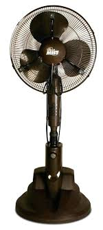 fancy outdoor misting fan backyard mister palm tree patio heater and mister year