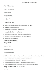 Retail Resume Template Free Sales Resume Sample Sales Example Sales