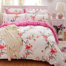 plaid bedding set 4pcs polyester cotton duvet cover bed sheet 2pcs pillowcases bedroom textile bed linen