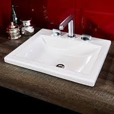inspiring design ideas overmount bathroom sink studio drop in american standard sinks vs undermount over mount granite kohler