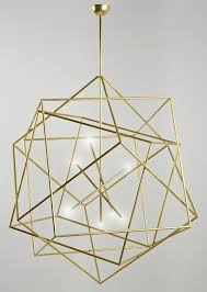 best 25 gold chandelier ideas on gold light gold geometric chandelier lighting