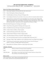 ... Skill resume, Musician Resume Cover Letter Musician Resume Template:  Free Musician Resume Sample ...