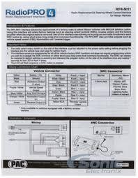 pac rp4 ni11 rp4ni11 radiopro radio replacement interface w product pac radiopro rp4 ni11