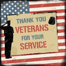 Thanks For Your Service Veterans Day Grunge Poster With Text Thank You Veterans For Your