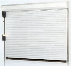 roll up garage door screenGarage Doors  Roll Up Overhead Garage Door Screensgarage Security