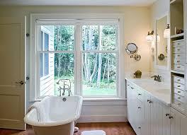 clawfoot tub bathroom ideas. View In Gallery Colorful Rolled Rim Clawfoot Bathtub Allows You To Enjoy The Views Outside Tub Bathroom Ideas I