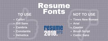 Discover The Best 40 Resume Font To Use Resume 40 Extraordinary What Is A Good Font For A Resume