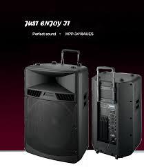 portable bluetooth speaker box. portable bluetooth trolley audio box speaker with usb port .