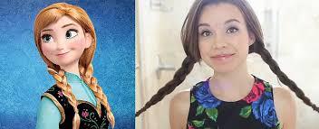 disney 39 s frozen princess anna makeup tutorial middot do you wanna build an updo 5
