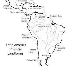 North And South America Blank Map Printable Blank Map Of North America Printable Blank Map Of