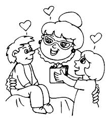 Kleurplaat Opa En Oma Animaatjesnl
