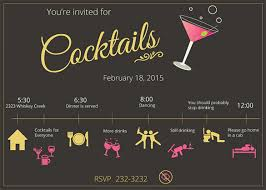 Design Party Invitations 21 Stunning Cocktail Party Invitation Templates Designs