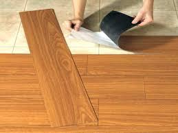 how to lay vinyl floor loose