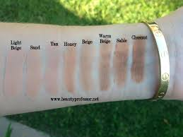 hourgl immaculate foundation swatches
