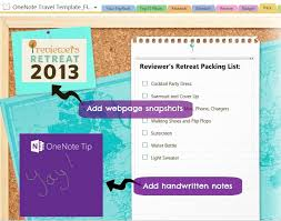 onenote budget template travel made easy with microsoft onenote travel template giveaway