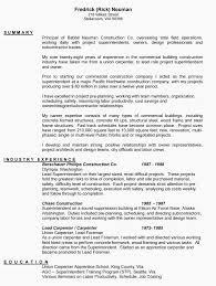 Sample Carpenter Resume Carpentry Resume Template Resume Example