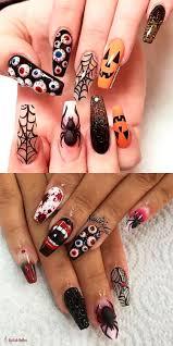 Halloween Gel Nail Designs 2018 The Best Halloween Nail Designs In 2018 Nail Art 3