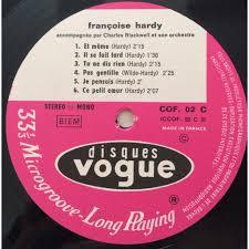 Mais puisque, ce n'est pas ton cas. Rare 3lp Box Coffret By Francoise Hardy Lp X 3 With Princethorens Ref 117018657