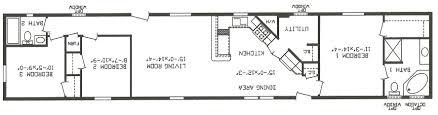 Single Wide 2 Bedroom Trailer Single Wide Mobile Home Floor Plans 2 Bedroom 2017 Logonaniket