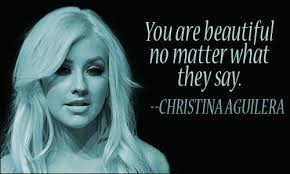 Beauty Expression Quotes Best Of Christina Aguilera Quotes